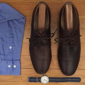 Bed | Stü Dark Brown Dress Shoe